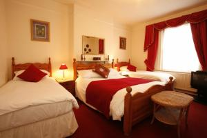 The Bedrooms at Langton House