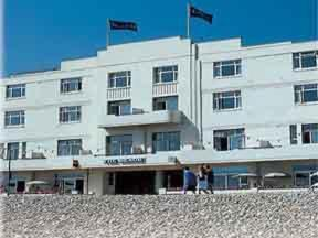 Image showing Beach Hotel
