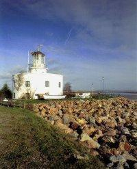 The West Usk Lighthouse